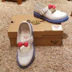 Dr. Martens Sanrio Hello Kitty Mary Jane Shoes
